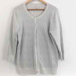 Merona Sweaters - Merona Crew Neck Button Down Sweater Size XXL
